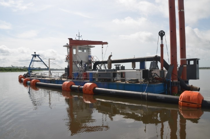 14CSD-Cutter Suction Sand Dredger