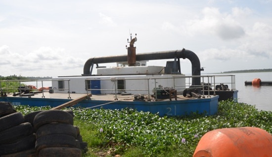 Sand Dredger Booster Pump Station