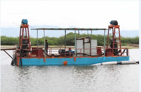 Submersible Pump Dredger