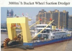 3000cbm/h bucket wheel suction dredger